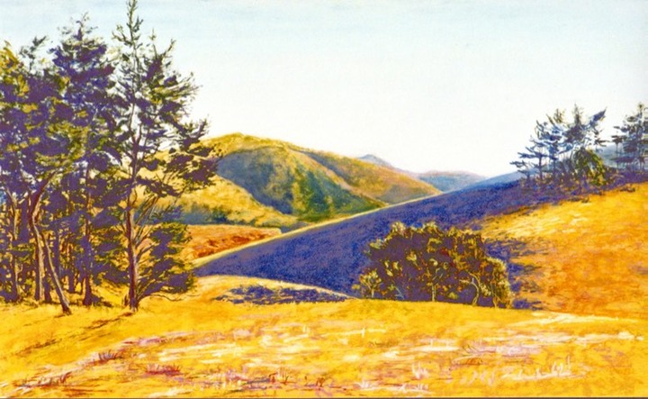 Purple Hill,Sonoma County